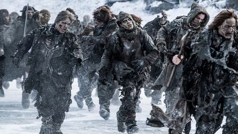 The Army of the Dead from Game of Thrones