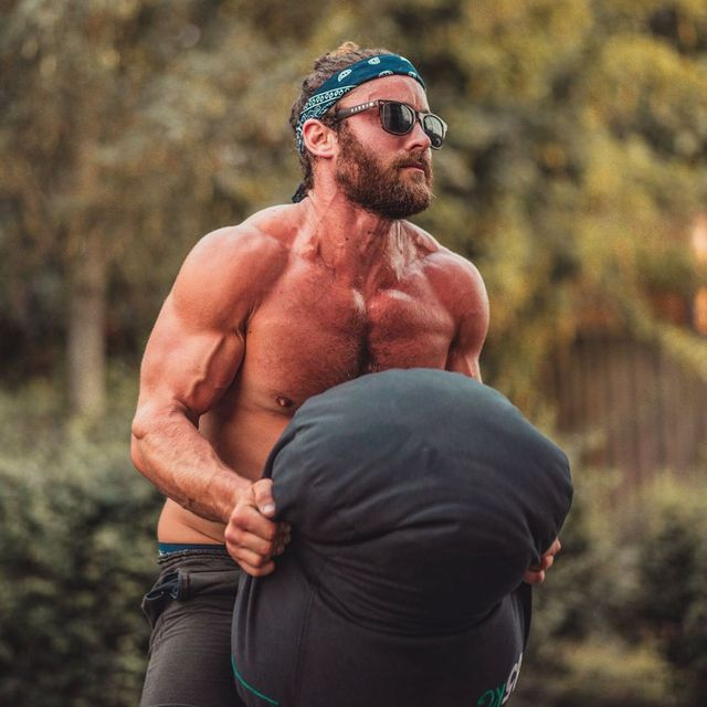 human body, goggles, chest, facial hair, barechested, muscle, people in nature, sunglasses, trunk, bodybuilder,