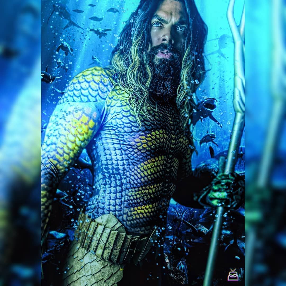 Is This Cosplayer Jason Momoa's Twin, Or Is It Just Us?