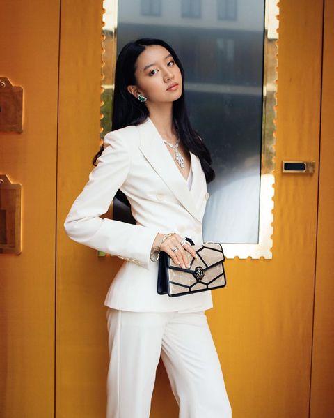 木村光希(Kōki)在米蘭時裝週期間,現身寶格麗配件發表會。