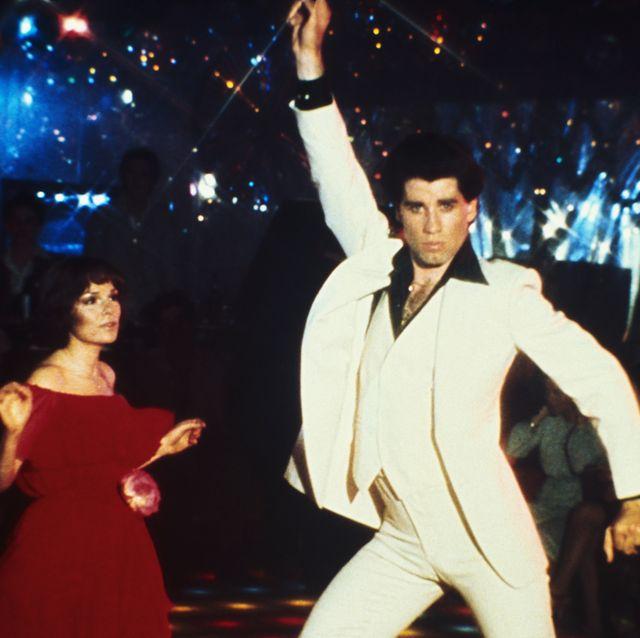 john travolta dancing in saturday night fever