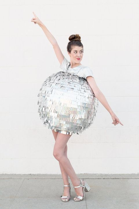 70s halloween costumes disco ball