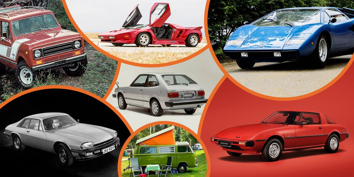 19 Cars From the '70s and '80s We'll Never Forget