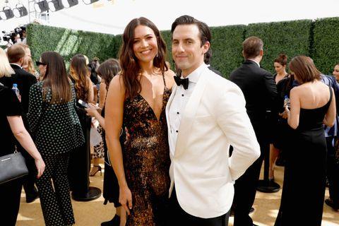 Milo Ventimiglia and Mandy Moore