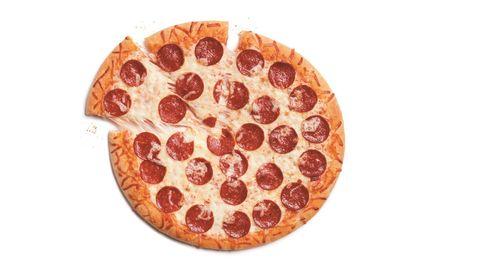 Pepperoni, Food, Dish, Cuisine, Junk food, Pizza, Sausage, Ingredient, Italian food, Fast food,