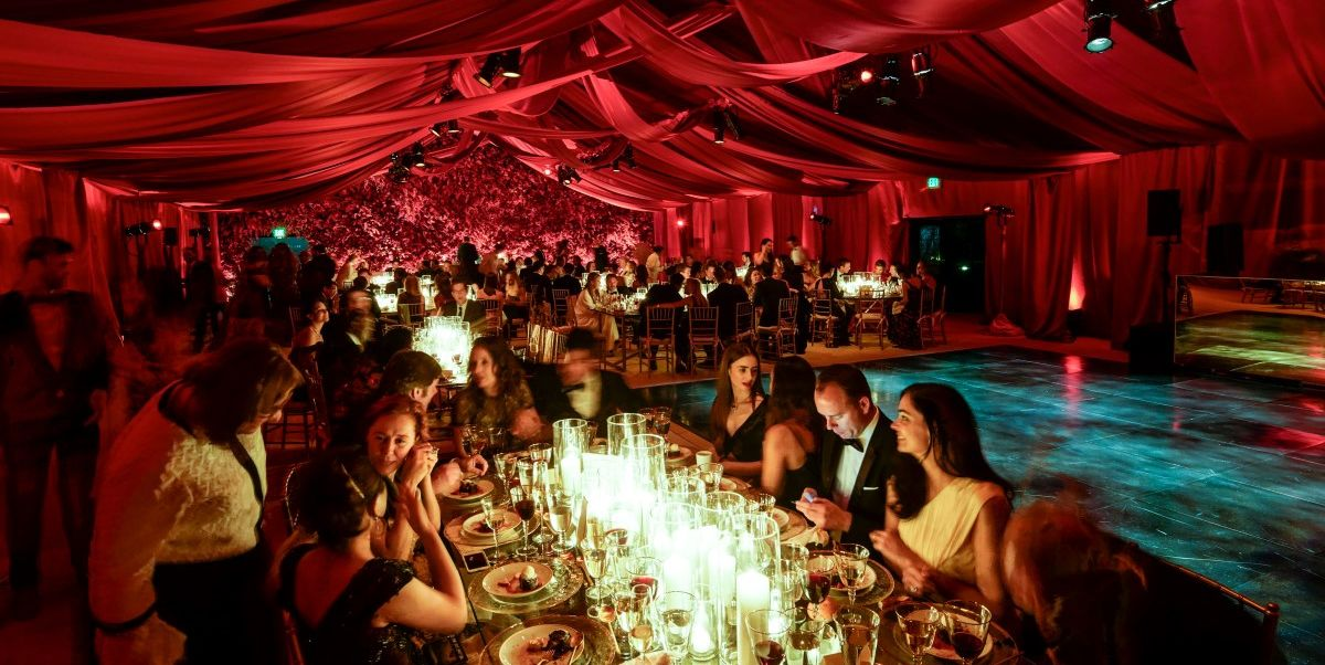 San Francisco's de Young Museum was awash in Cartier red when the French jewelry maison sponsored the annual Mid-Winter Gala there last week. Freida Pinto, Lily Collins, Sofia Boutella, Bianca Brandolini, and Derek Blasberg flew in for the event—the culmination of a several days of parties in celebration of Cartier's new store in the city, and launch of its Santos de Cartier watch collection.