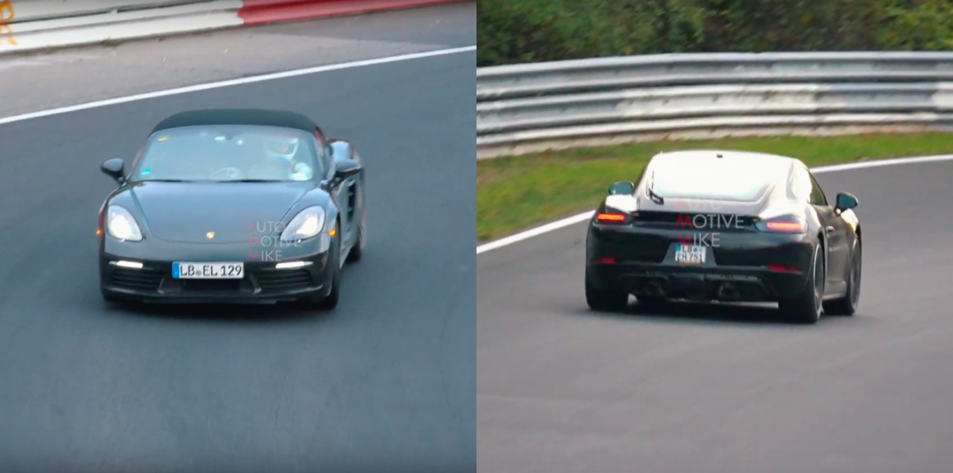 Listen to These Mysterious Porsche 718 Test Mules on the Nurburgring