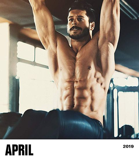 Calendar, Muscle, Physical fitness, Font, Crossfit, Barechested, Chest, Abdomen,