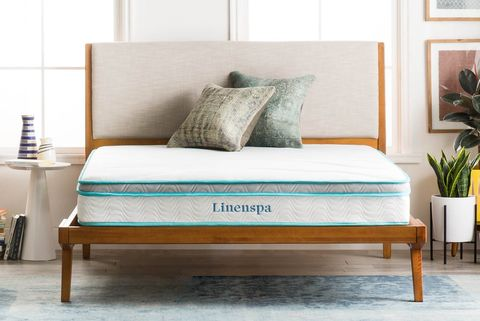 Furniture, Bed, Room, Bedroom, Bed frame, Couch, Interior design, Mattress, studio couch, Turquoise,