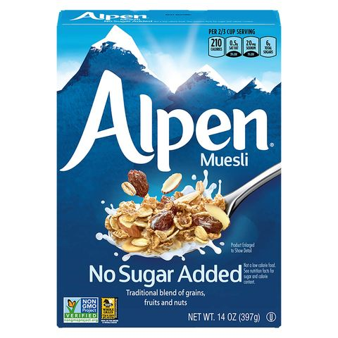 alpen muesli   healthy cereal