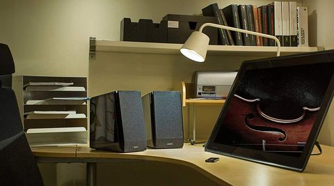 Furniture, Interior design, Room, Design, Automotive design, Desk, Eyewear, Office, Leather, Wood,