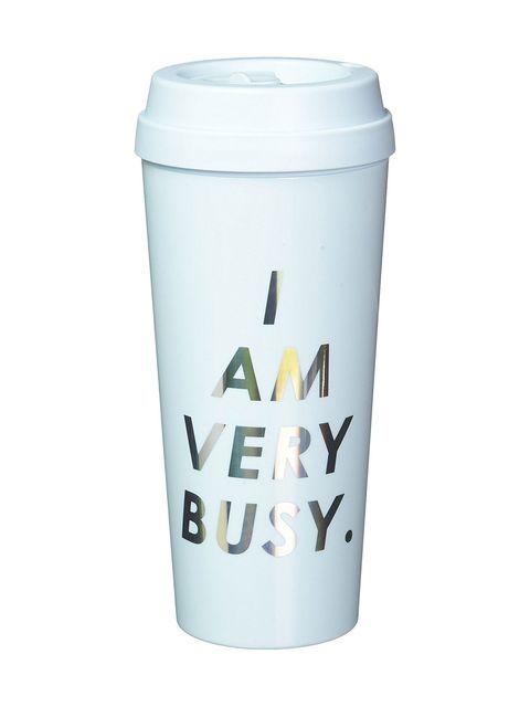 Tumbler, Drinkware, Mug, Tableware, Font, Coffee cup, Plastic, Lid, Cup,