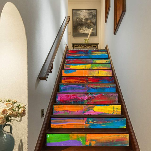 Stairs, Architecture, Interior design, Room, Wall, Floor, Wood, House, Glass, Hardwood,
