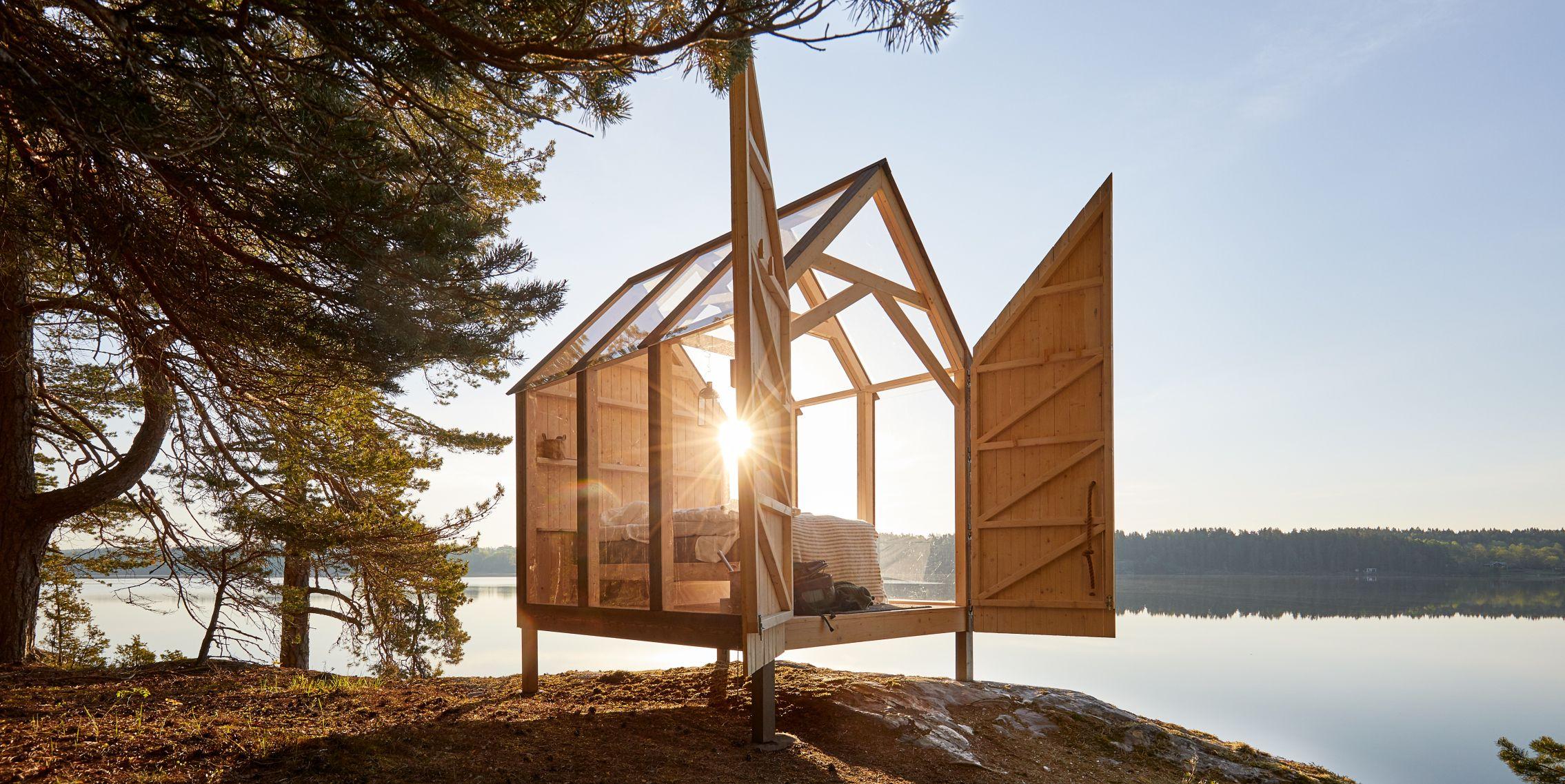72 horas minicasa cabina en Suecia