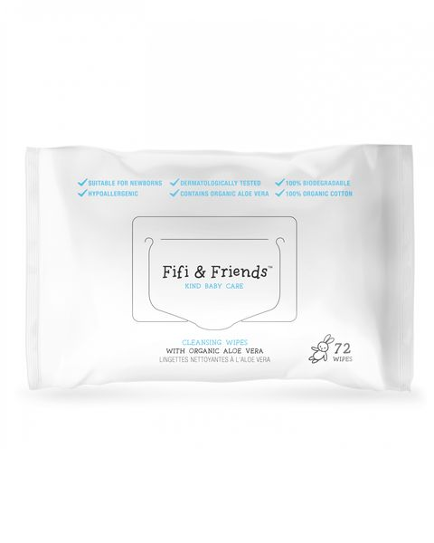 Fifi & Friends 100% Biodegradable Baby Wipes