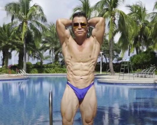 72yearold bodybuilder