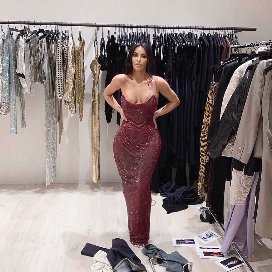 The Sparkly Versace Gown Kim Kardashian West Won't Be Wearing