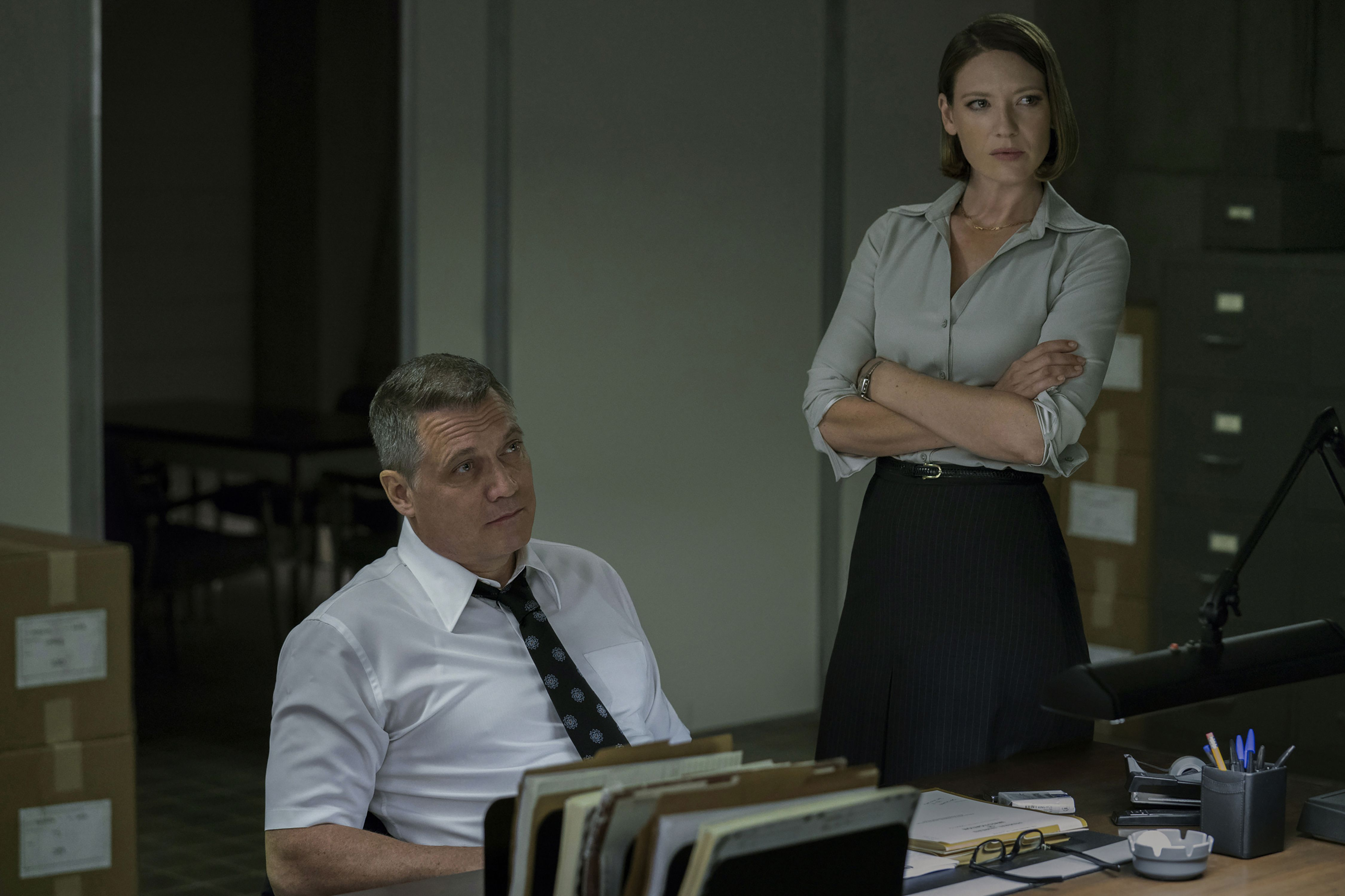 A still from Mindhunter season one.
