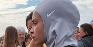 Muslim disqualified from race for wearing a hijab