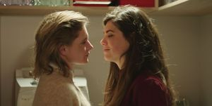 Anne en een vriendin