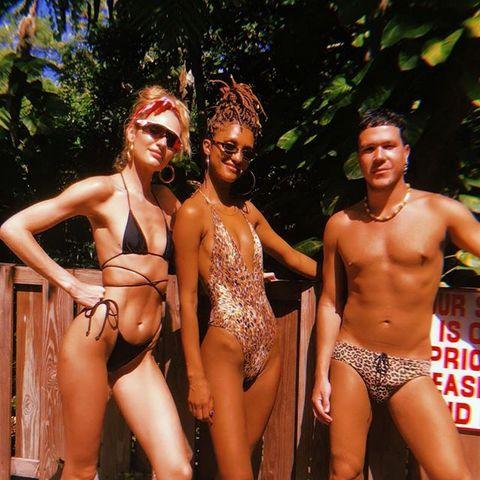 Bikini, Undergarment, Muscle, Briefs, Barechested, Swimwear, Underpants, Navel, Swim brief, Competition,