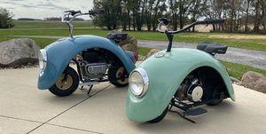 Volkspod minibike Volkswagen Beetle