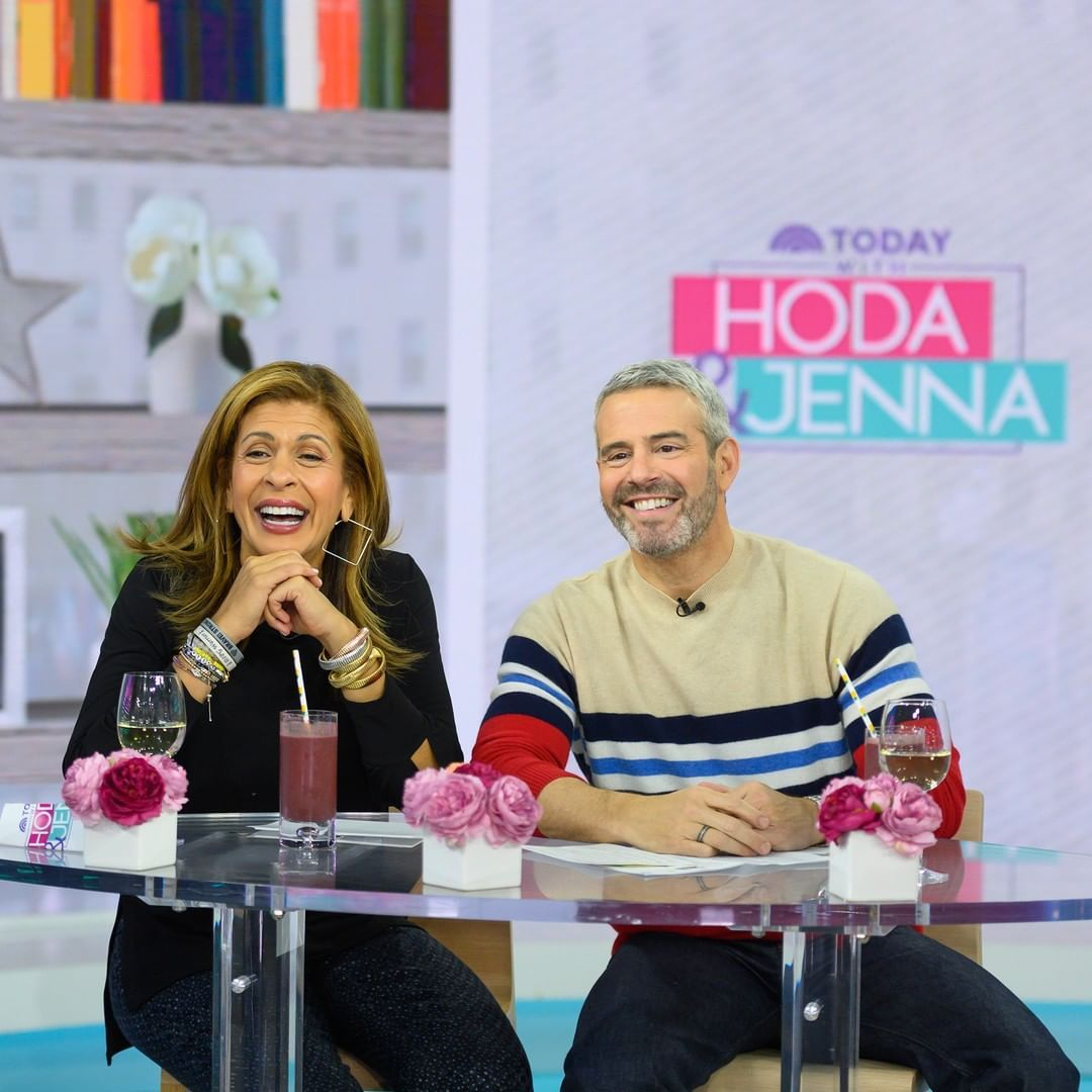 """Hoda Kotb and Andy Cohen Shed a Positive Light on Aging While Co-hosting """"Today"""""""