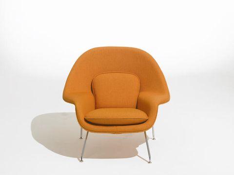Brown, Product, Comfort, Furniture, Chair, Line, Amber, Orange, Tan, Material property,