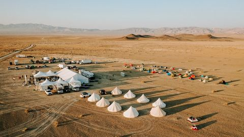 the rebelle rally camp