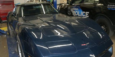 Police Recover 1981 Chevy Corvette Stolen Nearly 40 Years Ago