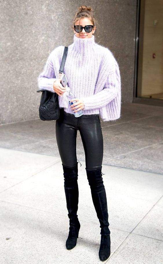 How to Wear: Oversized Sweaters