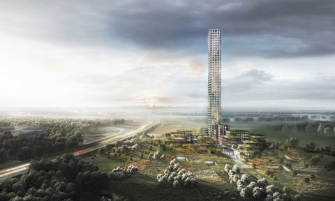 bestsellter tower concept drawing
