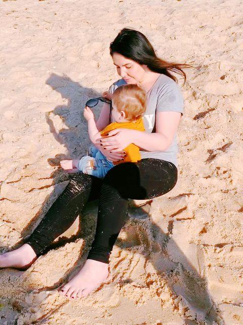 Fun, Sand, Leg, Vacation, Child, Abdomen, Play,