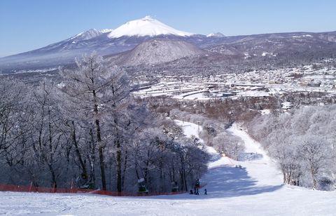 日本 輕井澤滑雪
