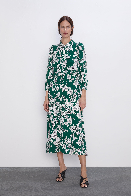 Fans are loving Amanda Holden's gorgeous floral Zara shirt dress
