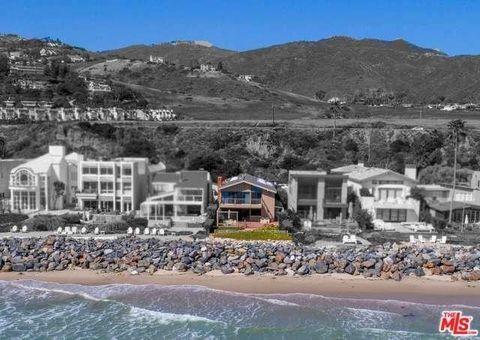 Steve and Eydie Malibu Home
