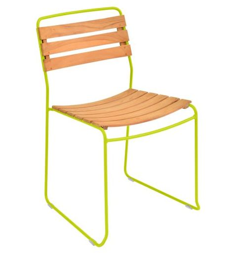 fermob teak outdoor chair