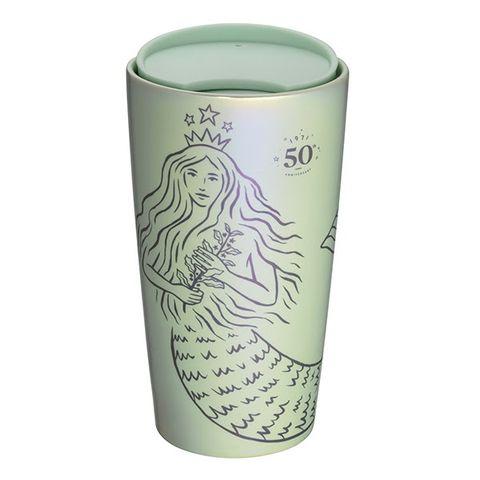 綠色的星巴克杯子