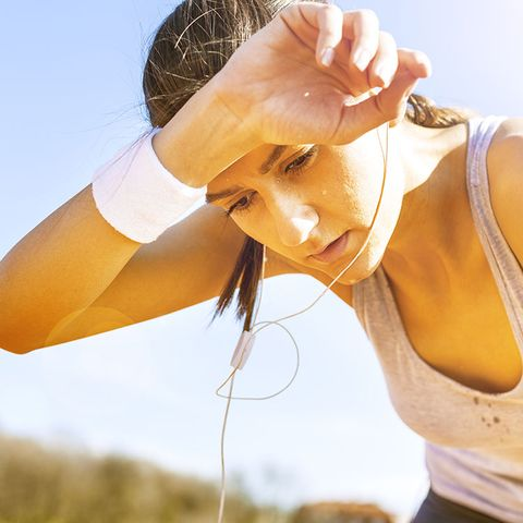 what you need to know about running in the heat