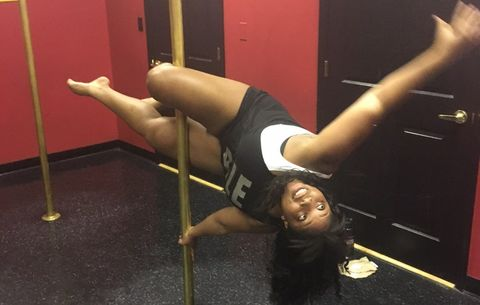 plus sized pole dancing