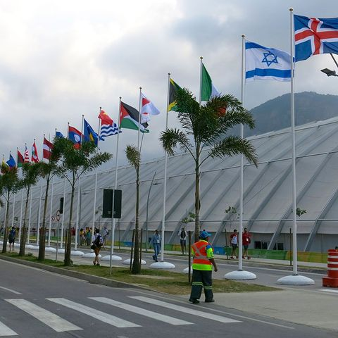 inside the olympic village