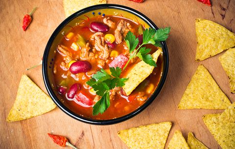 what nutritionists order at mexican restaurants