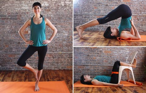 This Yoga Routine Will Reverse A Day's Worth Of Standing On Your Feet