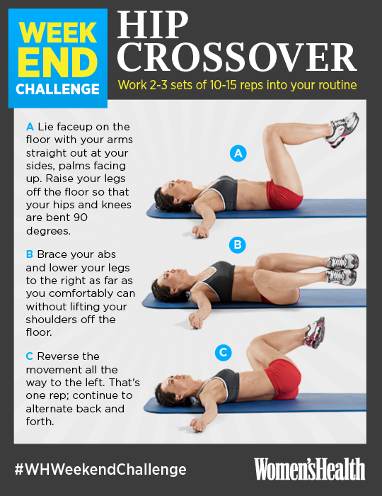 Weekend Challenge: Hip Crossover