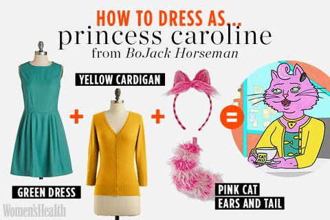 4 Super-Easy Halloween Costumes Made (Mostly) of Clothes You