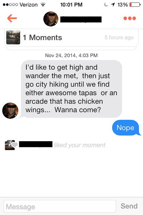 The 8 Most Cringeworthy Tinder Conversations Ever Shared Online