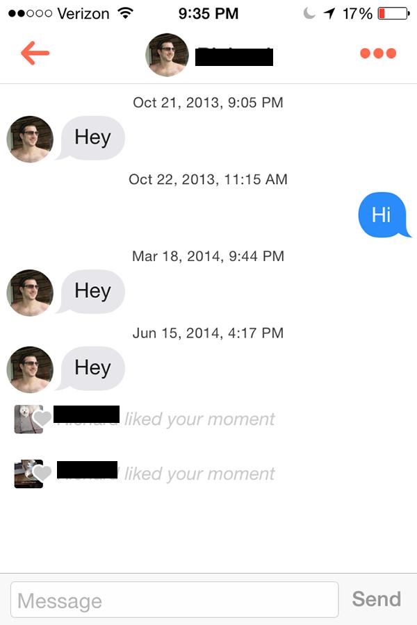 21 cringeworthy online dating messages