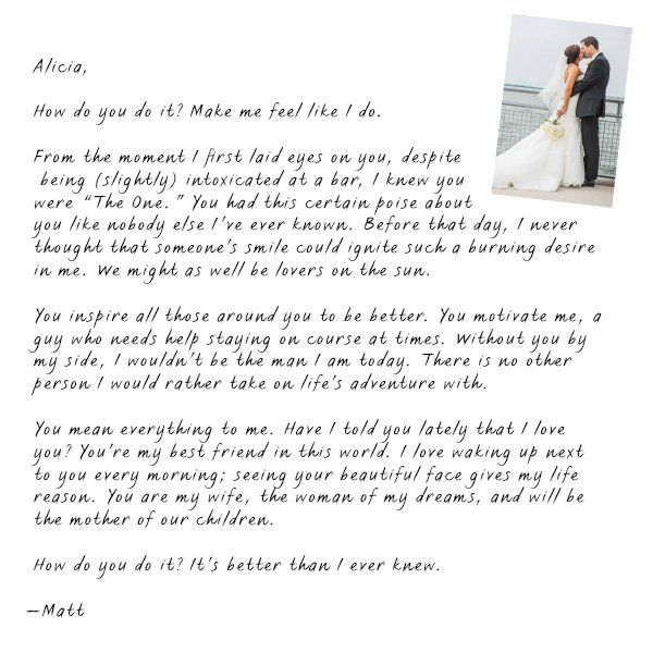 What to write in a love letter to a guy