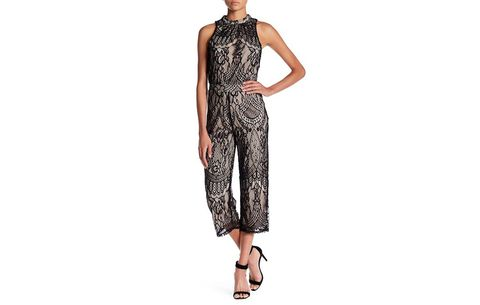 Love, Fire Lace Jumpsuit