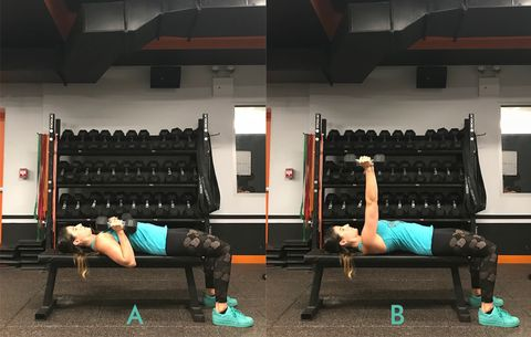 8 Moves You Should Be Doing On A Bench Women S Health